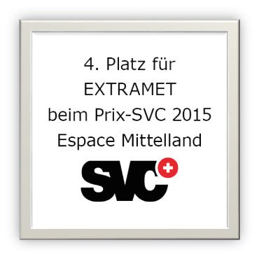 SVC 4. Platz für Extramet!